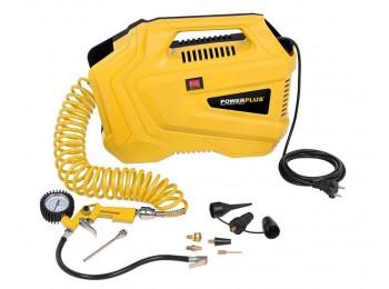 Compresor pres. 8bar/180l 1100w s/ac. powerplus 1