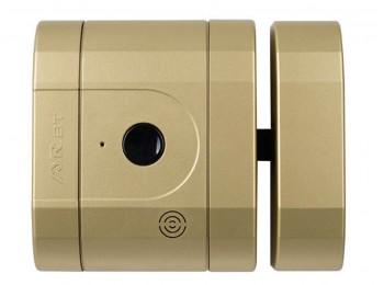 Cerrojo sobr. electronico ayr acero+plastico lat/mt int-lock