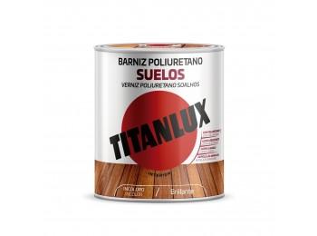 Barniz mad bri. 750 ml inc. poliu. suelos int titanlux