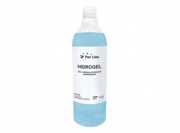 Gel desinfectante 1lt hidroalcohÓlico purline tapÓn de rosca