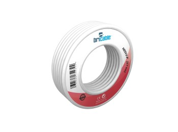 Cable elec rdo mang h05vv-f bricable 2x1mm bl 5 mt
