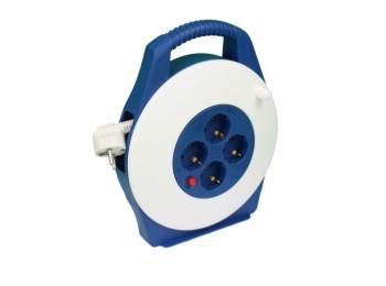 Enrollacable elec 3x1,5mm 05mt 3500w 2t-tt term. tayg bl/az