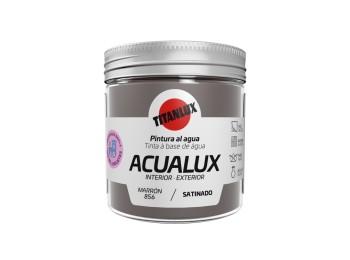 Pintura manualid. al agua 75 ml marr satin. acualux titan