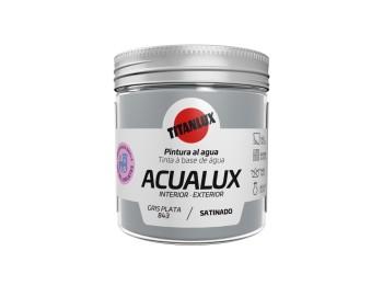 Pintura manualid. al agua 75 ml gr/pl satin. acualux titan