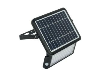 Proyector solar ip65 10w 1080lm 4000k polic ne guardian luce