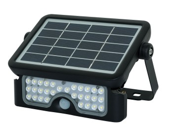 Proyector solar ip65 5w 550lm 4000k guardian luceco