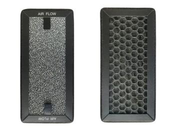 Filtro purificador 20x9,5x1,5 cm carbono pure 75 / pure 75 p
