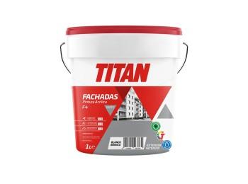 Pintura acril mate fachadas bl f4 titan 1 lt