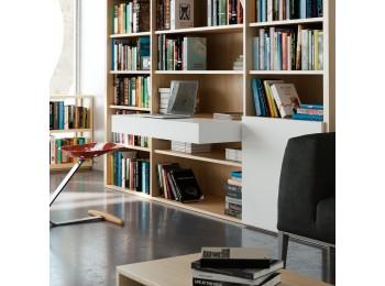 Emuca Guías para mesa extensible y elevable Oplà Folding+39 para hogar, Aluminio, Anodizado inox